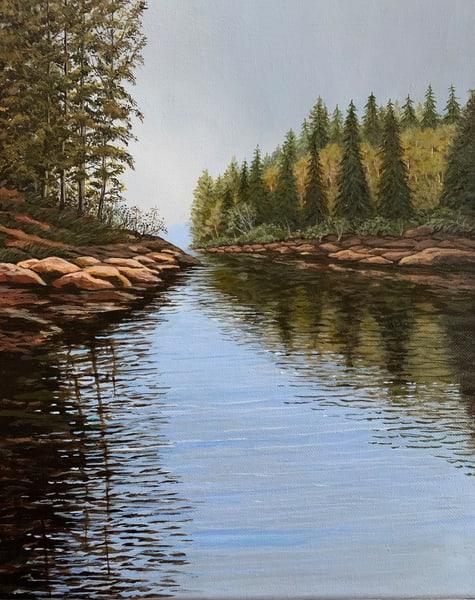 Morning Calm Art   Skip Marsh Art