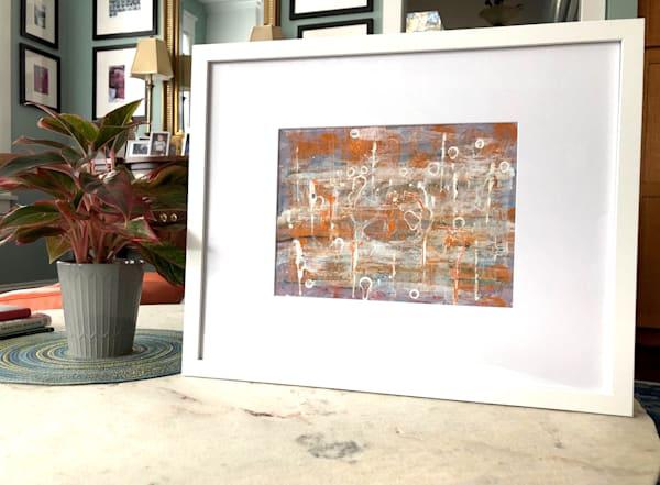 Goldenrod Abstract (Original) Art   Karlana Pedersen Visual Art & Illustration