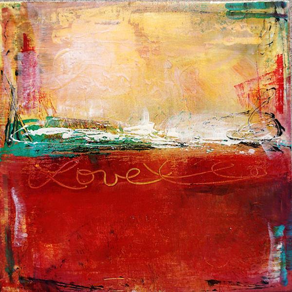 Meditation Love 3 Art | Tara Catalano Studios