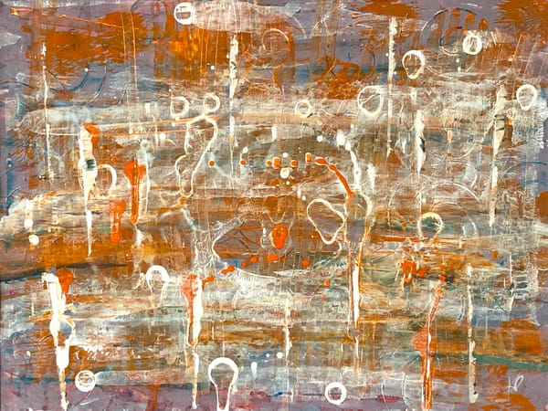 Goldenrod Abstract (Giclee Reproduction) Art | Karlana Pedersen Visual Art & Illustration