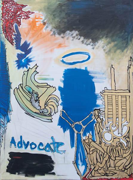 The Advocate Art   Justin Hammer Art