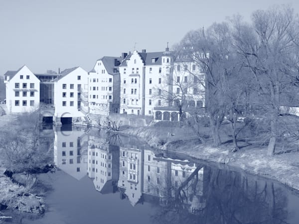 Regensberg Reflection by Leo Tujak an American photographer.