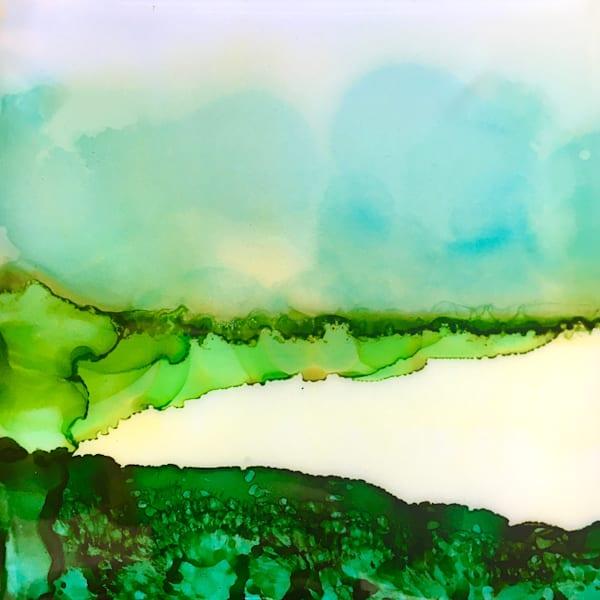 Meadow Triptych 1 Art | Sandy Smith Gerding Artwork
