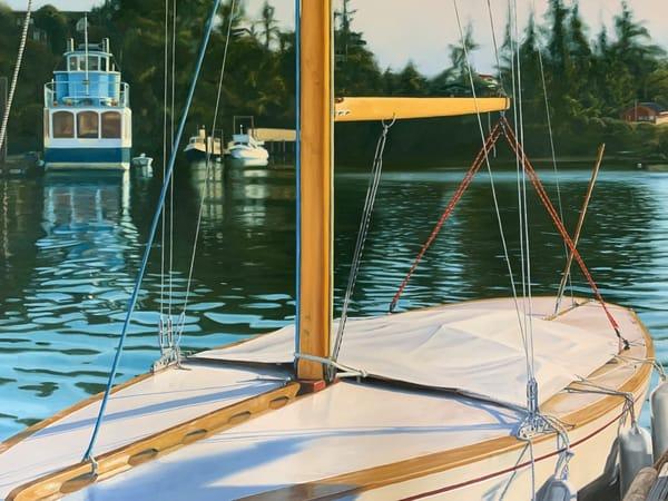 Suspended Travel Art | Friday Harbor Atelier
