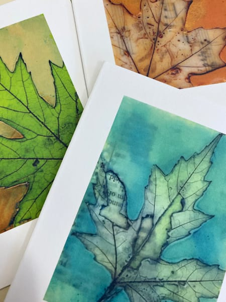 Seasonal Maples Set Of Four Cards | Eyes Aflame LLC