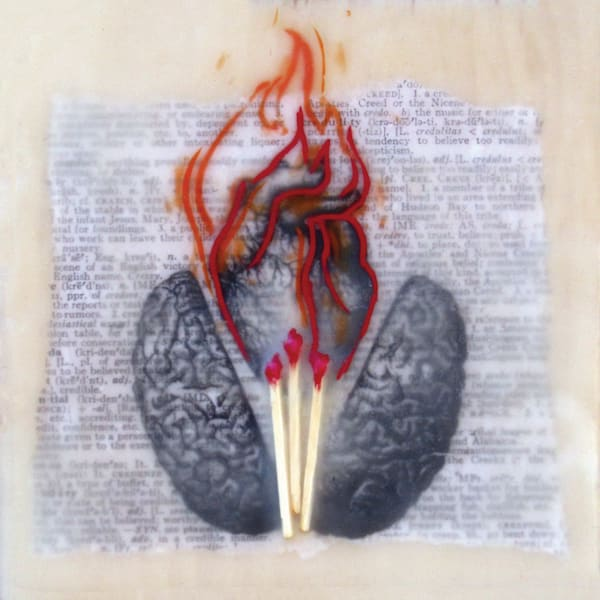 """""""The Creative Heart"""" Set Of Four Cards 