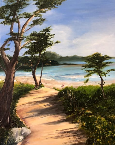 Carmel by the Sea by Suparna Sain, an Artist from India