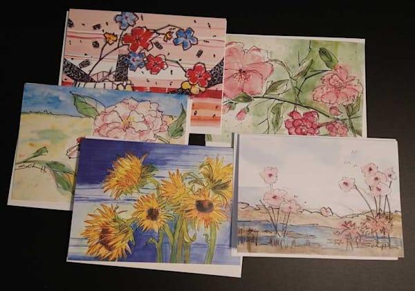 Greeting Cards   Flower Pack | Elaine Schaefer Hudson Art