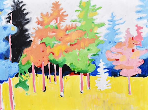 Forest  Print Art | eddie hamilton art