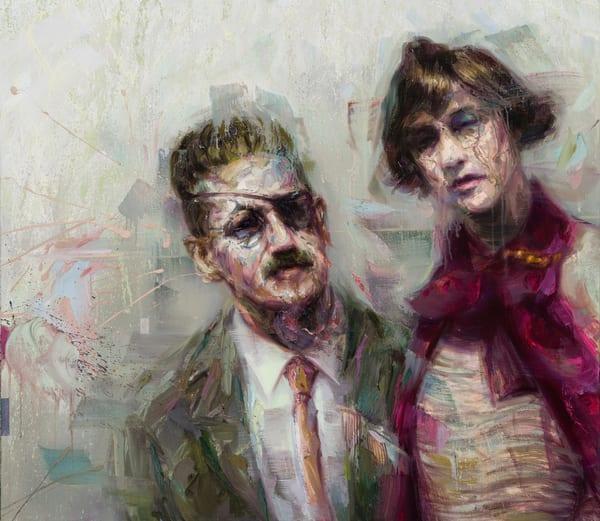 James Joyce And Nora Barnacle Art | Mathieu Laca