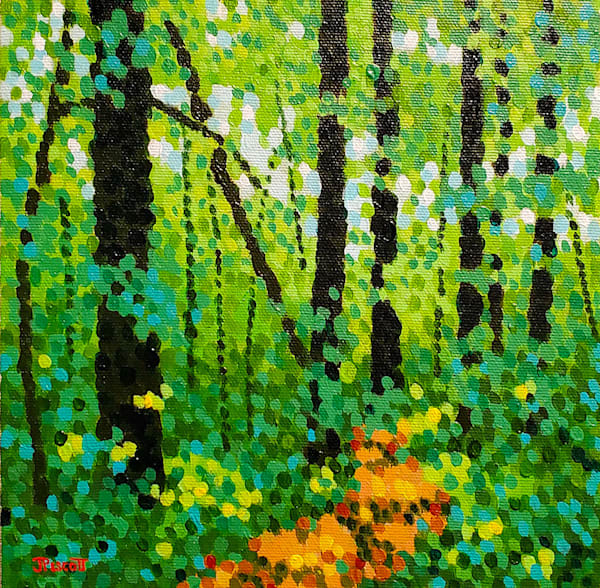 Walking In The Woods Art | Jim Pescott Art