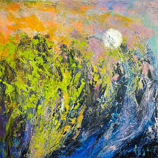 Marsh Moonrise  | Dorothy Fagan Joy's Garden