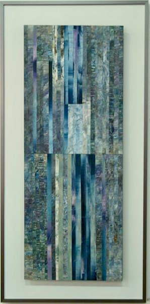 Double Waterfall  (Original) Art   Laurie Fields Studio