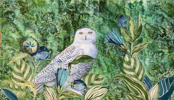 Snowy Owl Art | Suzanne Aulds Studio