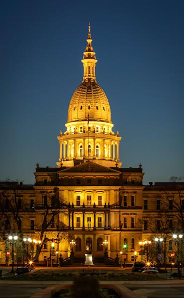 Michigan State Capital  Photography Art | Ursula Hoppe Photography