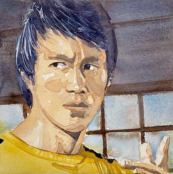 Bruce Lee Art   the   danfinnell   studio