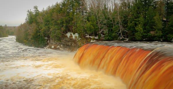 Upper Tahquamanon Falls Photography Art | Ursula Hoppe Photography