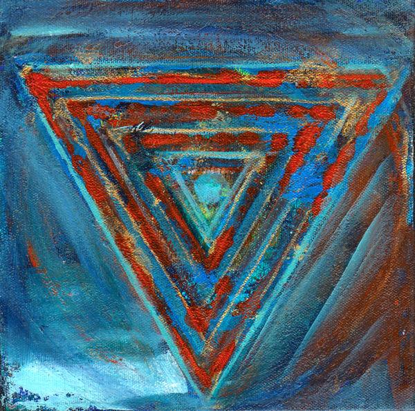 Triangles Art   Samantha visual art