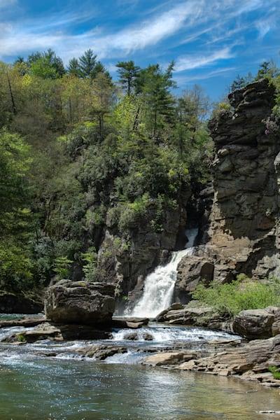 Linville Falls Basin Print