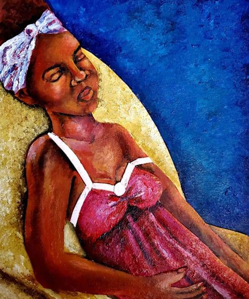 Woman Reclining Art | Toshfomby