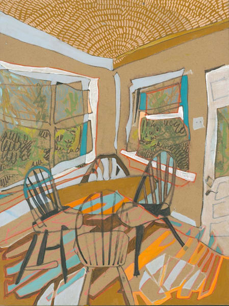 .Bedford St. No. 101 | Erika Stearly, American Artist