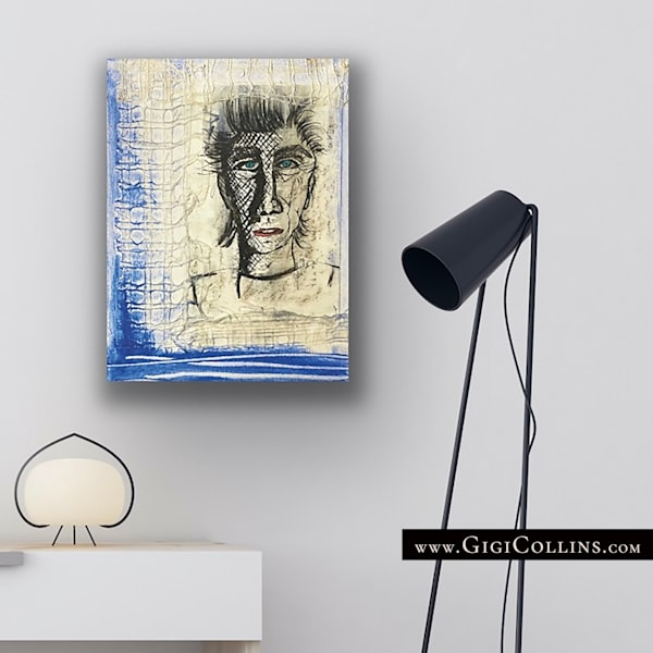 J.T. Limited Edition Gallery Wrap Art | Gigi Collins Art