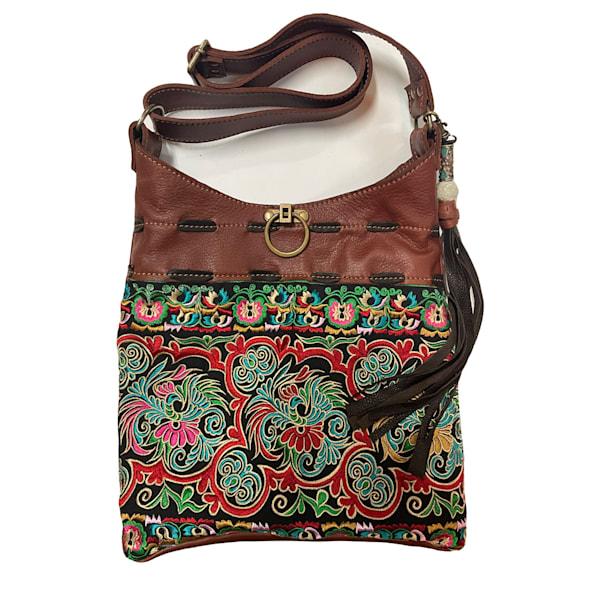 Thai Embroidered Shoulder Bag