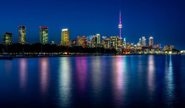 Toronto Skyline From Trillium Park Photography Art | Rick Vyrostko Photography