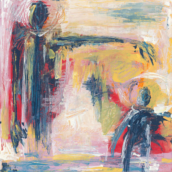 Carrington Arts Abstract Figurative Painting
