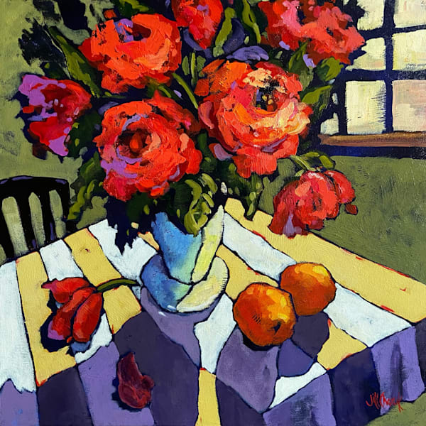 Roses Are Red Art | Jill Charuk Art
