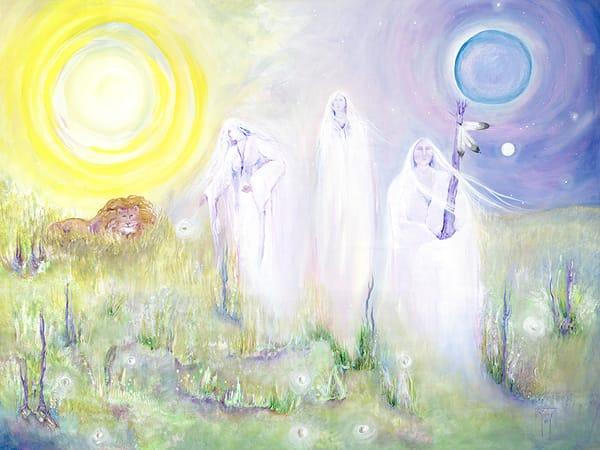 Three Ladies of the Sky