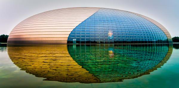 """The Giant Egg""   Beijing Photography Art   Rick Vyrostko Photography"