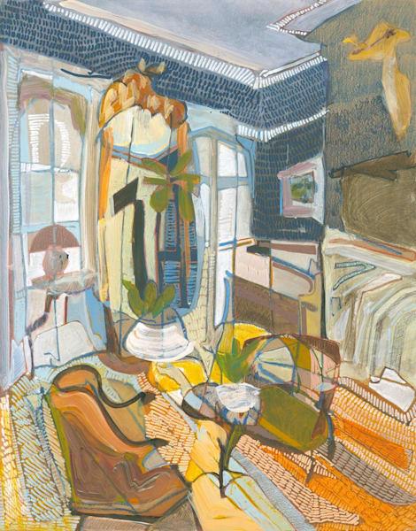 809 Dayton Street No. 201 ///Sold Art   Erika Stearly, American Artist