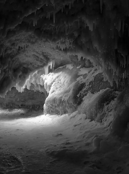 Ice Cave Photography Art   Ursula Hoppe Photography