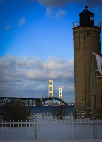 Mackinac Bridge Photography Art | Ursula Hoppe Photography