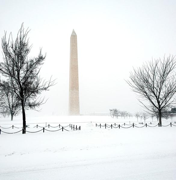 Washington Monument Blizzard