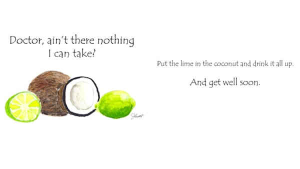 Coconut & Lime | KnottJust Art