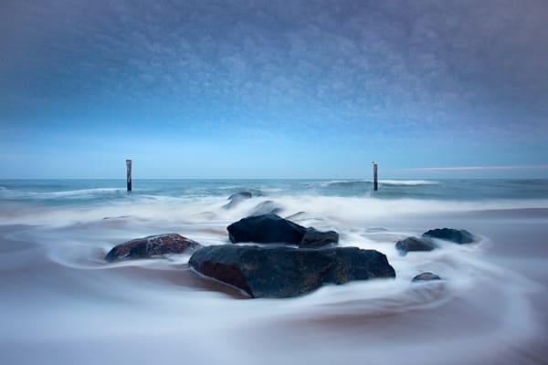 Smokey Water Photography Art | Silver Sun Photography