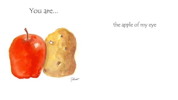 Apple & Potato | KnottJust Art