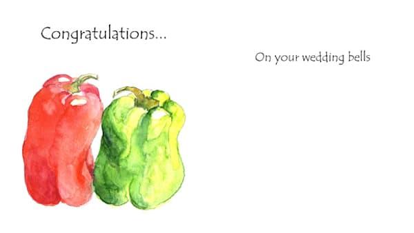 Bell Peppers Wedding   KnottJust Art