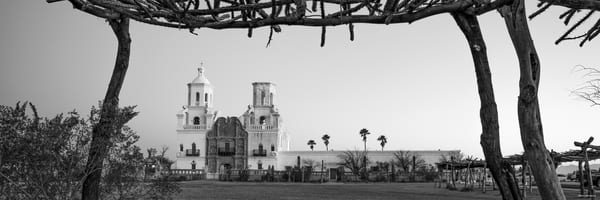 Sunrise at Mission San Xavier del Bac can be breathtaking. The other morning I arrived roughly forty minutes or so before dawn, it was a cold and crisp morning, which is what I wanted as that meant a clear winter sky