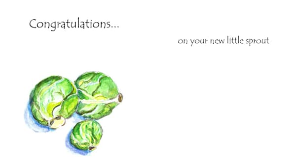 Brussels Sprouts | KnottJust Art
