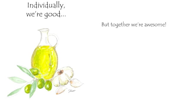 Olive & Garlic | KnottJust Art