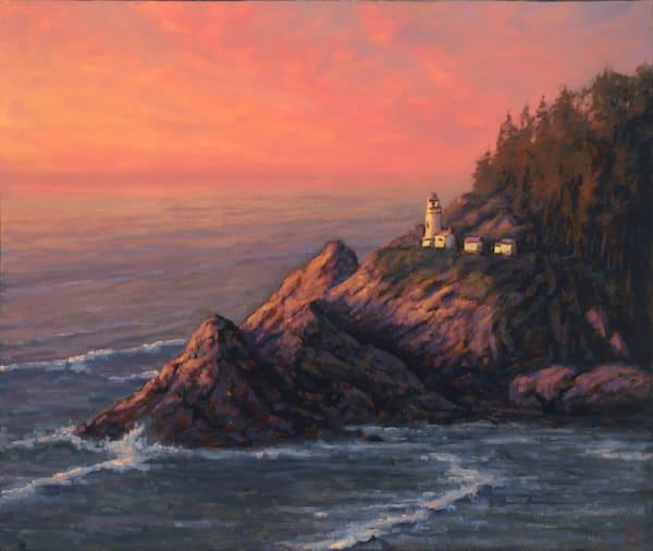 Heceta Head Light House Art | Michael Orwick Arts LLC