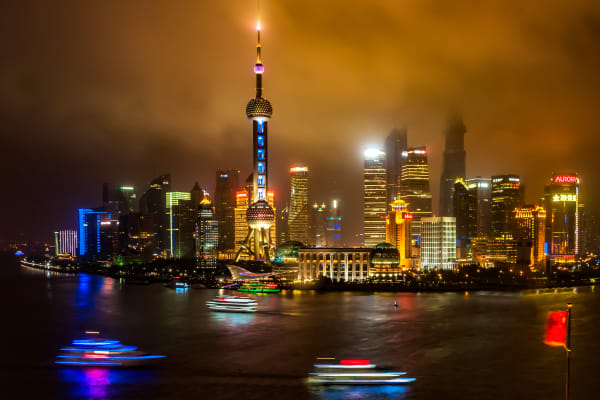 Shanghai   A Night Of Mystery Photography Art | Rick Vyrostko Photography