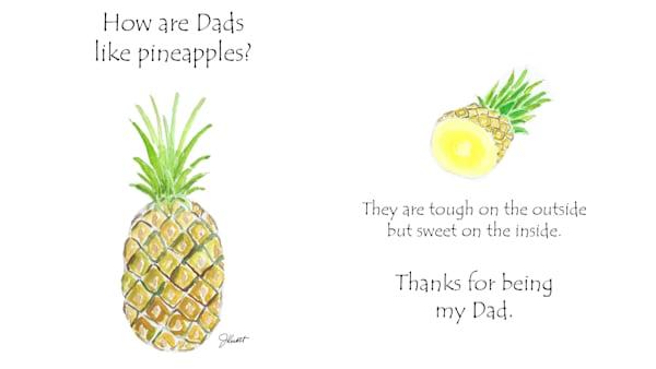 Pineapple Dads | KnottJust Art