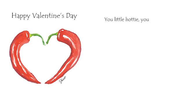 Chili Pepper Valentine | KnottJust Art