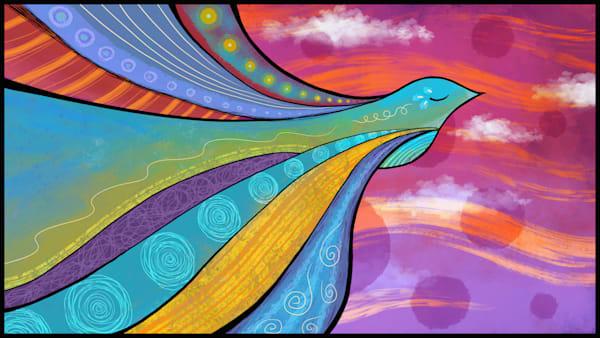 Bird Of Peace Art | Kyle Creative