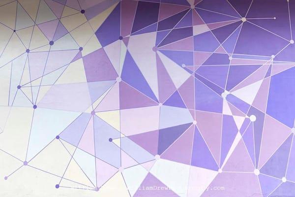 Magic Kingdom Purple Wall - Disney Wall Murals | William Drew Photography