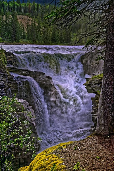 """""""Athabasca Falls III"""" fine art photograph by Fred Neveu."""